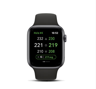 Apple Watch Arccos Caddie