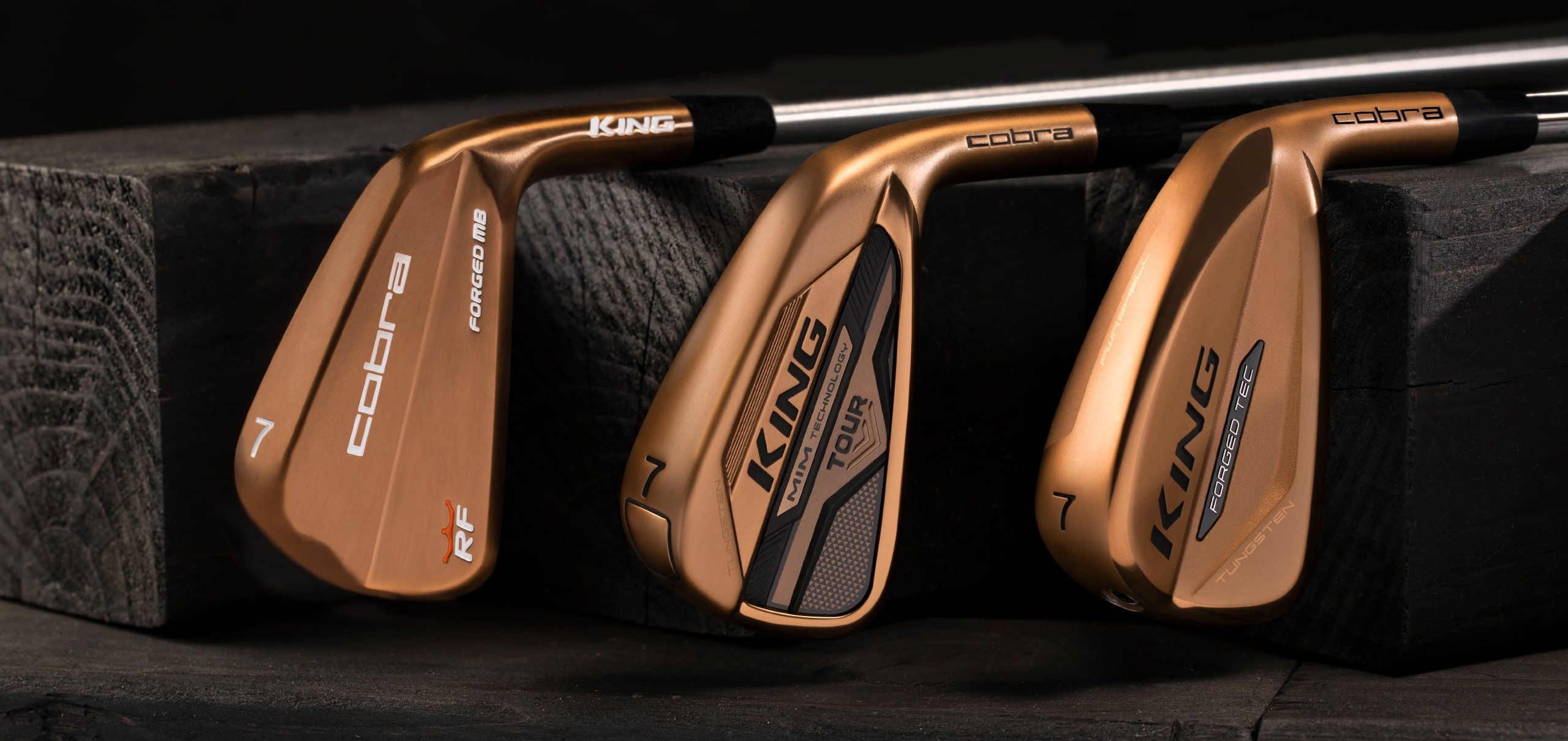 Copper Irons Side-By-Side