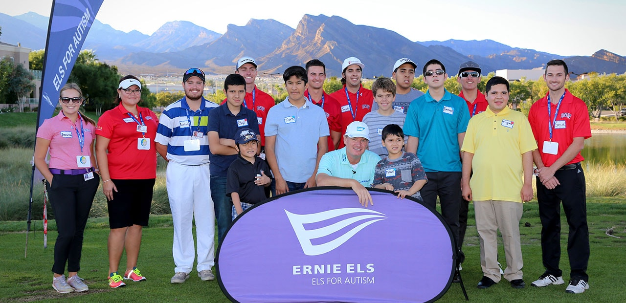 Ernie Els Group Gallery