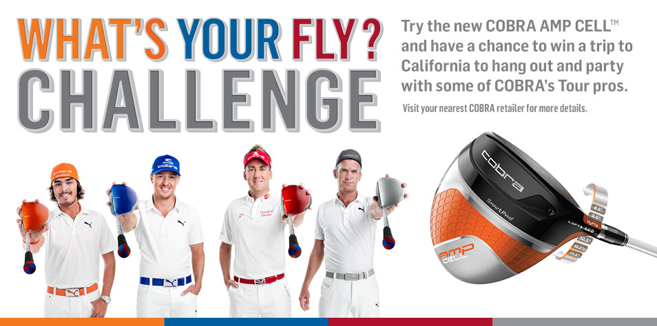 What's your Fly Challenge - Cobra Golf