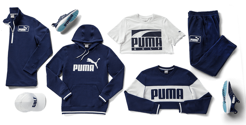 PUMA Golf Big Logo Collection