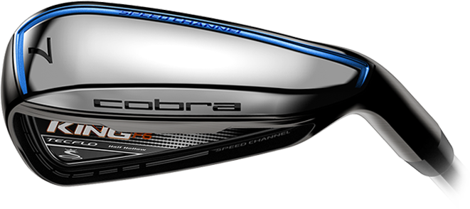 Cobra KING F6 Golf Club Irons Speed Channel