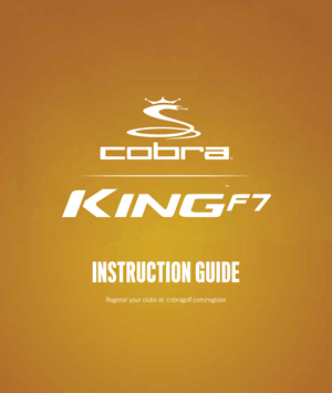 KING F7 Instruction Manual