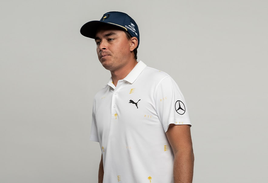 Rickie with white PTC polo