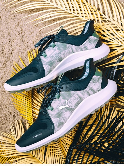 Palm Tree Crew Puma golf shoes