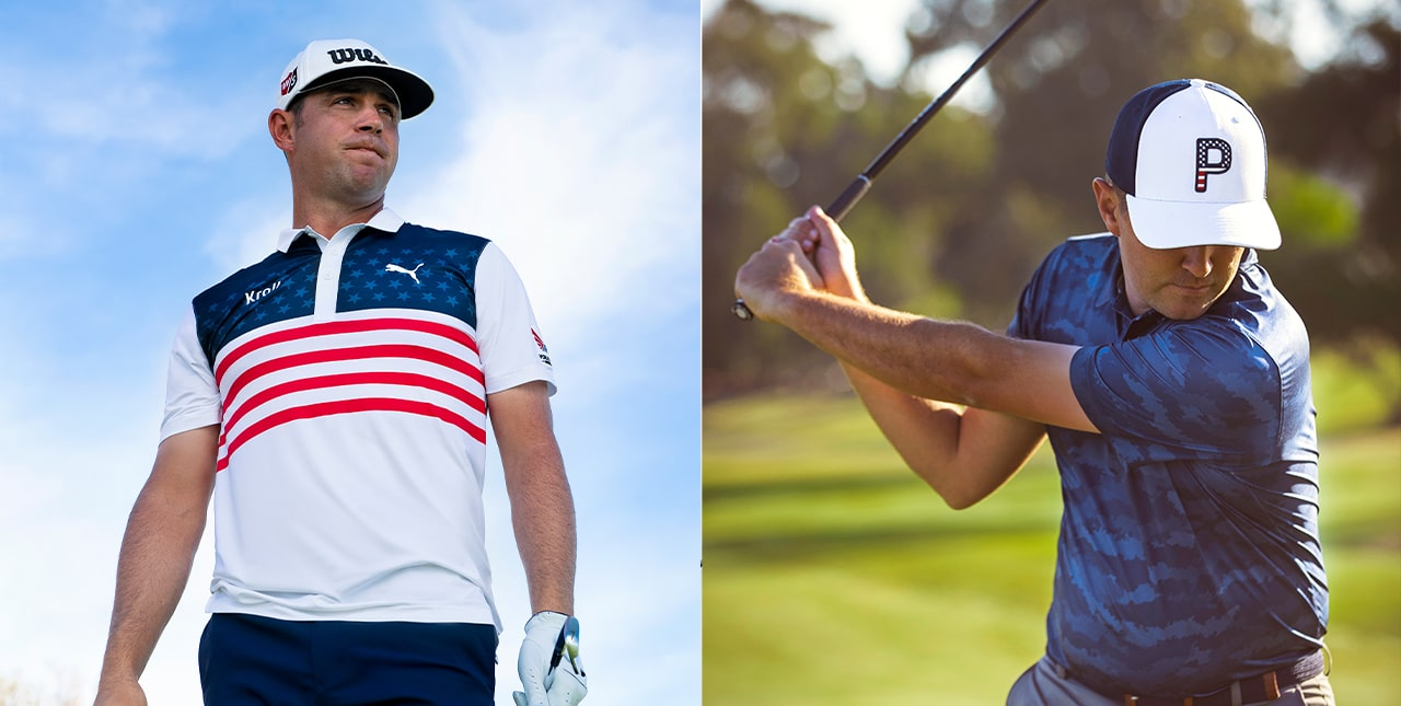 Gary Woodland and Apparel Images